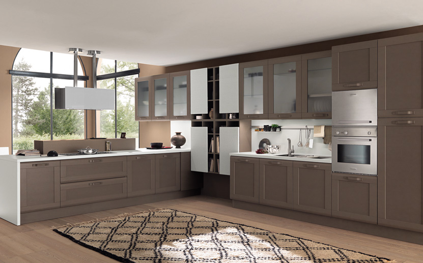 Cocina mod kelly fresno cappuccino grupo guijo for Color fresno